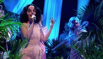 Watch @bjork 's First TV Performance In 8 Years!