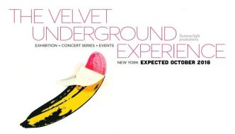 """The Velvet Underground Experience"" Exhibition to be held in New York, October 2018"